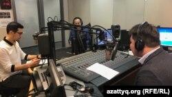 Азат Еуропа/Азаттық Радиосы Өзбек қызметінің директоры Алишер Сиддиқов пен Қырғыз қызметінің журналисі Заирбек Бақтыбаев қатысты.