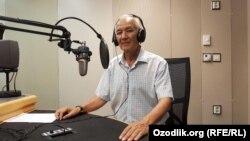 Профессор Рустам Нуриддинов.