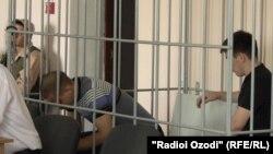 Илдар Сахапов ва Федор Басимов дар додгоҳ