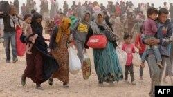 İordaniyada Suriya qaçqınları