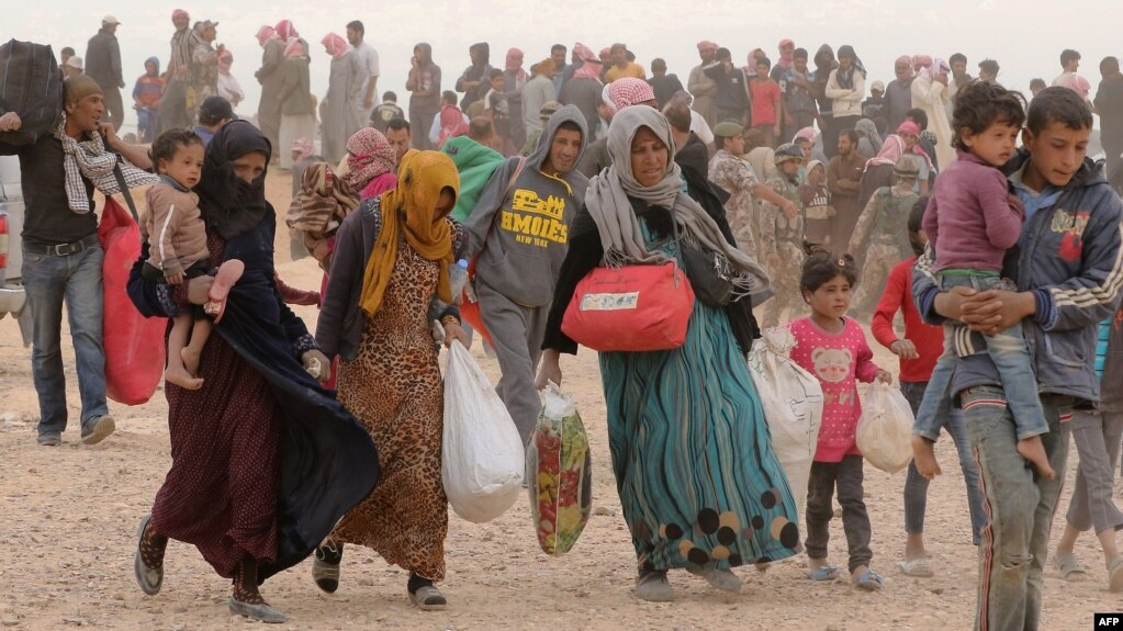هشدار سازمان ملل در مورد وضعیت هزاران زن و کودک سوری در مرز اردن