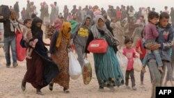 آوارگان سوری در اردن که از جمله کشورهایی است که بیشترین تعداد آوارگان و پناهجویان را پذیرا هستند