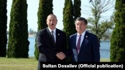 Илхам Алиев жана Сооронбай Жээнбеков, 3-сентябрь, 2018-жыл.