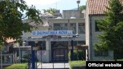 Ulaz u tvornicu Dalmatinka Nova