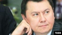 Рахат Алиев в бытность послом Казахстана в Австрии. 2006 год.