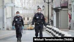 Москва во время режима самоизоляции