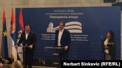 Igor Mirović i Aleksandar Vučić, Novi Sad