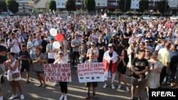 Пратэст у Салігорску, 17 жніўня 2020