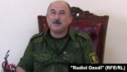 Генерал Иззатулло Шарифов