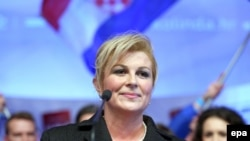 Kolinda Grabar-Kitarovic has become Croatia's first female president.