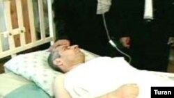 «Bizim Yol» qəzetinin baş redaktoru Bahəddin Həziyev Kliniki Tibbi Mərkəzin reanimasiya şöbəsində - 20 may 2006