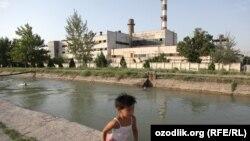 Uzbekistan - Bekobod city of Tashkent region, 19 June 2015