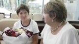 Учителя из России в аэропорту г. Душанбе. 30 августа 2017 года