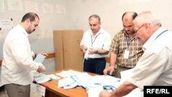 عملية العد والفرز في إنتخابات كردستان