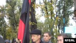 Перед російським консульством у Львові