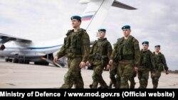 Орусиянын жана Беларустун машыгууга катыша турган аскерлери