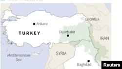 Приграничные районы Турции