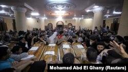Prošlogodišnja sahrana stradalih u terorističkom napadu na koptsku manjinu u Egiptu