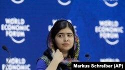Лауреат Нобелевской премии мира Малала Юсуфзай.