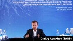 Орус премьер-министри Дмитрий Медведев.