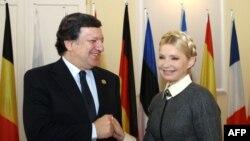 Жозе Мануель Баррозу та Юлія Тимошенко, квітень 2011 року