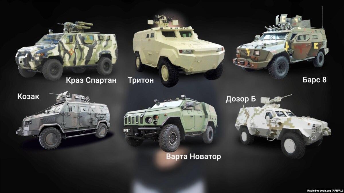 От волонтерских легковушек до броневиков: на чем передвигаются военные на шестом году войны