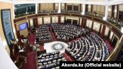 Қазақстан парламенті палаталарының бірлескен отырысы. Нұр-Сұлтан, 2 қыркүйек 2019 жыл.