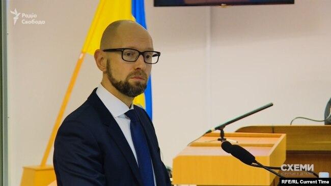 Екс-прем'єр Арсеній Яценюк