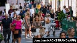 Стокгольм, Швеция. Июль 2020 года