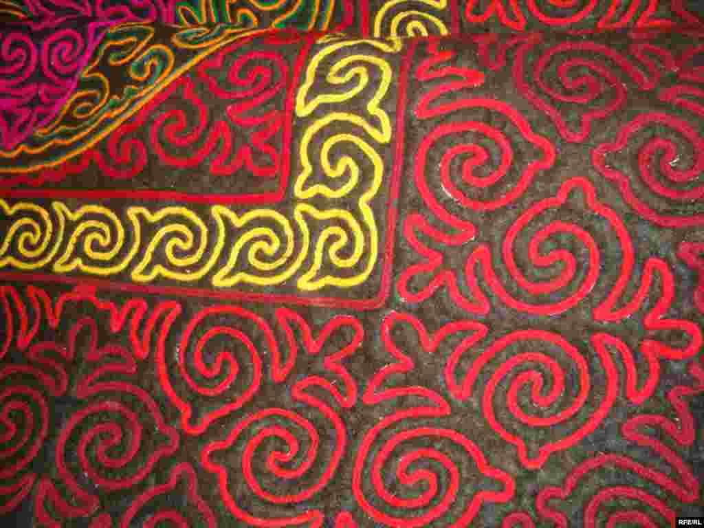Многообразие кыргызского орнамента #1