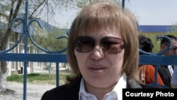 Адвокат Гүлнар Жуаспаева.