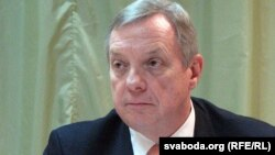 U.S. Senator Richard Durbin during his visit to Minsk on January 14