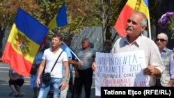 La protestele de la Chisinau de la 27 august 2017