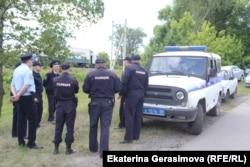 Полиция в дни после драки