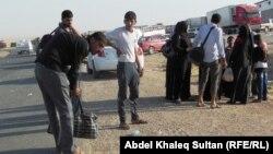 عائلات مسيحية نازحة من الموصل