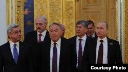 ЕАЭБге мүчө мамлекеттердин президенттери
