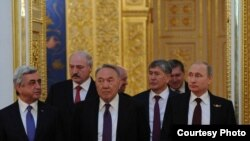 Лидеры стран ЕАЭС