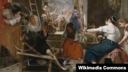 Дыега Вэласкес, «Пральлі» (1657)