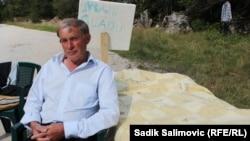 Жемал Хасанович. Сребреница, 9 қыркүйек 2014 жыл.