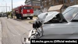 Авария в Севастополе