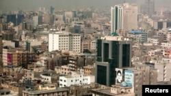 Իրան - Տեսարան մայրաքաղաք Թեհրանից, արխիվ