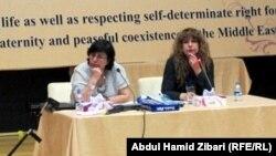 جلسة في المؤتمر الأول للتجمع العربي لنصرة القضية الكردية