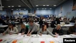 Избори во Британија, броење гласови