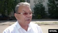 Алпамыс Бектурганов, бывший советник акима Западно-Казахстанской области. Уральск, 11 августа 2009 года.