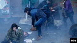 Stamboll, 12 mars 2014.