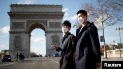Ֆրանսիա, Փարիզ, 15-ը մարտի, 2020թ.