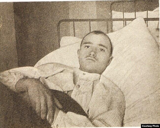 Максім Гарэцкі ў ваенным шпіталі. 1914 год
