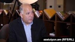 Сопредседатель совета попечителей Армянской Ассамблеи Америки Энтони Барсамян, 13 декабря 2019 г.