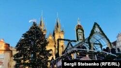 Центр Праги напередодні Різдва перетворився на справжню казку