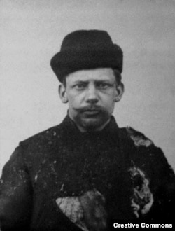 Террорист Иван Каляев. Фото сделано в феврале 1905 года сразу после убийства им вел. кн. Сергея Александровича